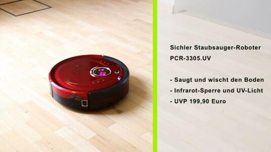 Sichler Staubsauger-Wisch-Roboter