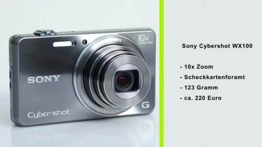 Sony Cybershot WX100