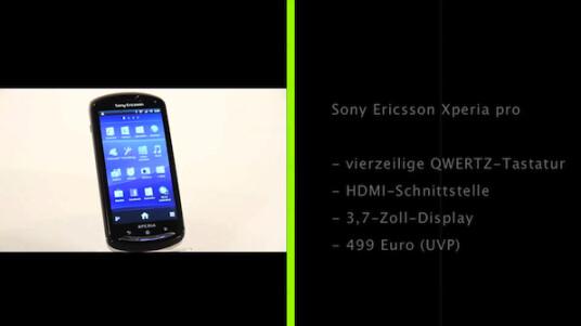 Das Xperia pro ist ein leistungsstarkes Slider-Handy. Die verbaute ausziehbare Tastatur bietet einen hohen Bedienkomfort.