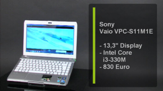 Das Sony Vaio Subnotebook mit einem Intel Core i3-330M Prozessor mit 2,13 Gigahertz ist hochwertig verarbeitet und für einen Fairen Preis von 830 Euro zu erhalten.