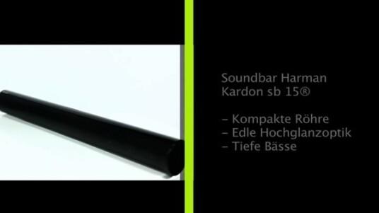 Durch ihre unauffällige Optik eignet sich die Harman Kardon SB 15 hervorragend als Ergänzung zum Fernseher. Vor allem dann dann, wenn sie in unmittelbarer Nähe oder unterhalb des Bildschirms aufgestellt werden soll.