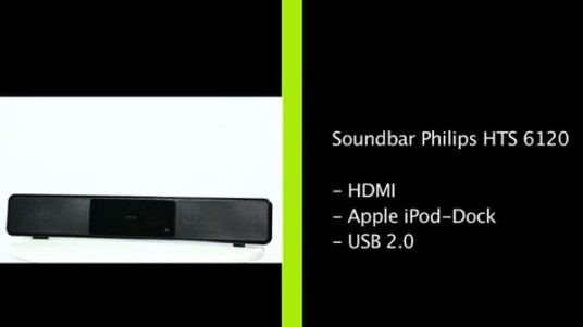 Soundbar Philips HTS 6120