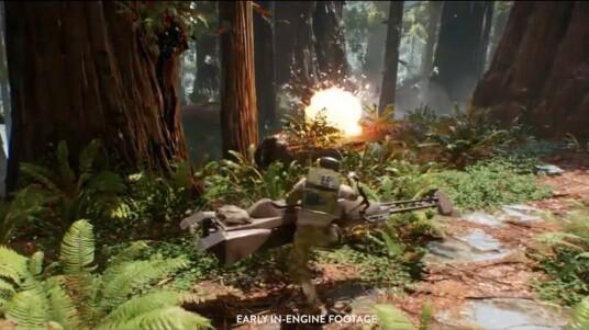 Das schwedische Entwicklerstudio von Dice in Stockholm kündigt auf der E3 2014 den Multiplayer-Shooter Star Wars Battlefront 3 an. Das Spiel befand sich ursprünglich schon 2008 bei Free Radical Games in Entwicklung, wurde aber wegen Schließung des Studios nie fertiggestellt. Digital Illusions übernahm die Entwicklung und lässt sich im Trailer bei der Arbeit über die Schulter schauen. Die Schauplätze der Filme wurden für das Spiel besucht und digitalisiert. Die Grafik lässt auf einen echten Augenschmaus hoffen. Die Veröffentlichung durch Electronic Arts erfolgt 2015 für PS4, Xbox One und PC.