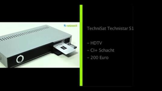 Zum Preis von vergleichsweise günstigen 200 Euro bietet Technisat den HDTV-Receiver Technistar S1 an. Ein gutes Angebot, wie der netzwelt-Test beweist. Auf ein paar Komfort-Funktionen müssen Interessierte aber trotzdem verzichten.