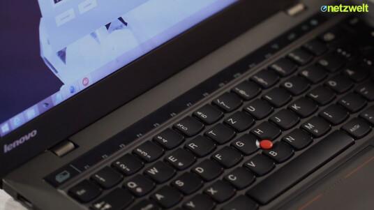 Nach wie vor einer der besten Tastaturen. Neu ist das Adaptive Keyboard im Lenovo ThinkPad X1 Carbon.