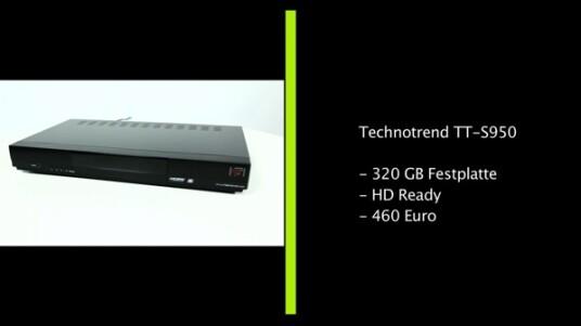 Der TT-S950 vom Hersteller Technotrend richtet sich vor allen Dingen an Nutzer, die häufig Fernsehprogramm aufzeichnen wollen. Hierfür bietet das Highend-Gerät diverse Komfort-Funktionen. Doch auch sonst braucht sich der HDTV-Sat-Receiver, in Sachen Ausstattung, nicht vor eventueller Konkurrenz verstecken. Dafür ist er nicht unbedingt günstig in der Anschaffung.