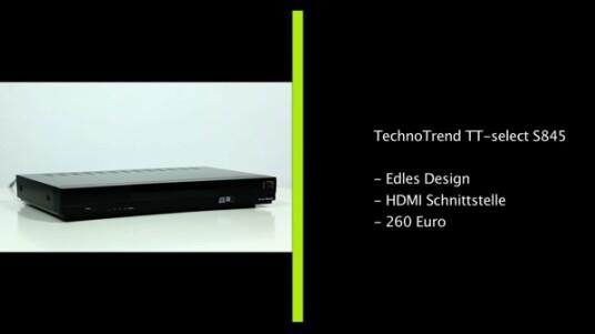 Klare Kaufempfehlung: Der HD+-fähige HDTV-Receiver von Technotrend hat zum Glück nicht die Schwächen des kleineren Bruder übernommen und erhält damit eine klare Kaufempfehlung von netzwelt.