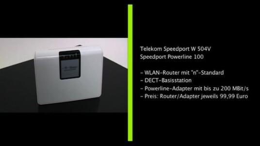 Mit dem Speedport W 504V hat die Telekom eine Router-Modem-Kombination auf dem Markt gebracht, die mit schnellem WLAN nach
