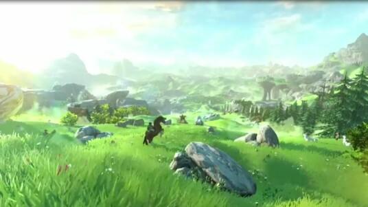 The Legend of Zelda - Wii U Gameplay-Trailer