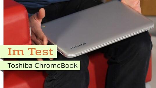Für knapp 300 Euro geht das Toshiba-Chromebook CB30-102 über die Ladentheke. Eignet es sich als Zweitrechner oder sogar als alleiniger Haupt-PC?