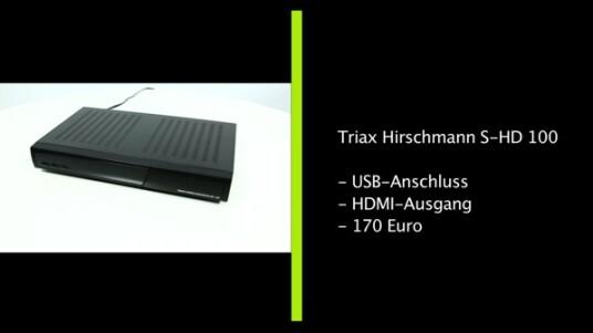 Triax Hirschmann S-HD 100