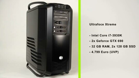 Ultraforce Xtreme - Core i7 3930K@4.2Ghx GTX690 SLI WAKÜ