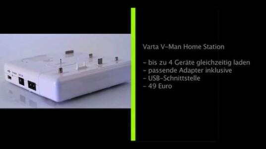Nahezu jedes elektronische Gerät benötigt ein spezielles Ladegerät. Mit der Home Station bringt Varta eine Ladestation auf den Markt, die bis zu vier Gadgets gleichzeitig auflädt und bereits über die gängigsten Adapter verfügt.