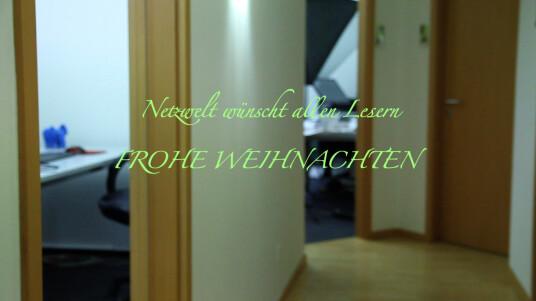 Das gesamte Team von netzwelt.de wünscht besinnliche Feiertage und einen guten Rutsch in das neue Jahr. 2013 kann kommen!