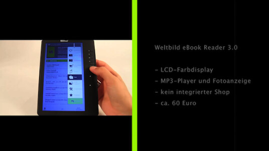 Weltbild eBook Reader 3.0