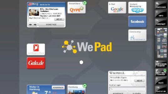 Das Video zeigt die Funktionen einiger Widgets des WePad. Der neue Tablet-PC von Neofonie beherrscht Multitasking und spielt zum Beispiel Webradio ab und findet Kochrezepte im Internet. Es stellt eine gelungene Alternative zu Apples iPad dar.