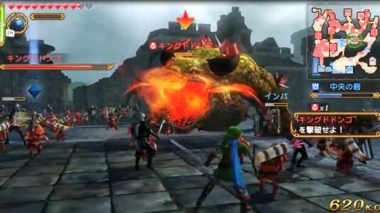 Nintendos Wii U war bisher nicht sonderlich gut mit hochklassigen Spielen ausgestattet, seit der E3 2014 gibt es allerdings Licht am Ende des Tunnels. Team Ninja und Tecmo Koei kündigten das Zelda-Spin-off Hyrule Warriors an, welches vom Spielprinzip an die Dynasty Warriors-Reihe erinnert. In Hack'n'Slay-Manier prügelt ihr euch mit Link, Prinzessin Zelda und Co. durch die gegnerischen Reihen. Eine Unmenge an Feinden wartet im Gameplay-Video auf ihre Vernichtungen. Ab dem 26. September ist Hyrule Warriors exklusiv für die Wii U im Handel erhältlich.