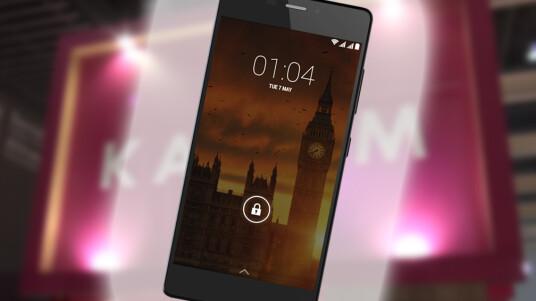 Kazam präsentiert mit dem Tornado 552L auf dem MWC sein neues Top-Smartphone. Es zeichnet sich durch eine äußerst dünne Bauweise aus.