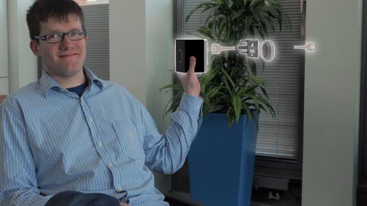 Wir konnten uns bereits vor Start der Crowdfunding-Kampagne das per Bluetooth gesteuerte Smarthome-Türschloss ansehen.