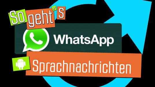 In diesem Video erfahrt ihr, wie das Versenden von Sprachnachrichten via Messenger WhatsApp unter Android funktioniert.
