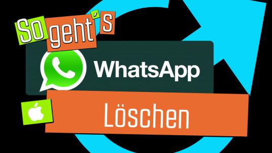 In diesem Video zeigen wir euch, wie ihr die WhatsApp-App von eurem iPhone löschen könnt.