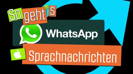 In diesem Video erfahrt ihr, wie das Versenden von Sprachnachrichten via Messenger WhatsApp mit eurem iPhone funktioniert.