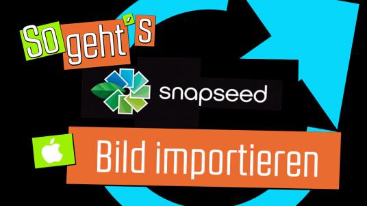 Snapseed ist auf eurem Smartphone installiert und ihr habt die App bereits geöffnet? Una zeigt euch im folgendem Video, wie ihr Bilder importiert.
