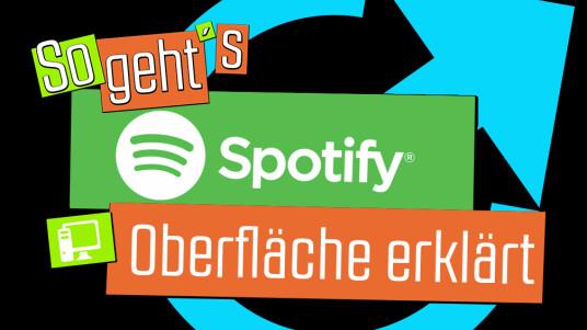 Spotify_PC_Oberflächeerklärt