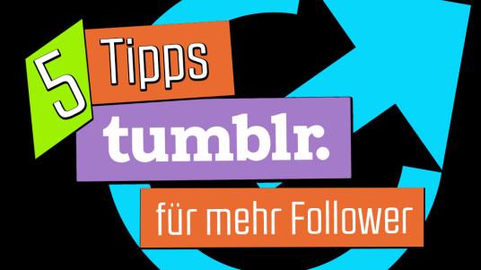 Jetzt wo ihr euch mit den Funktionen und Einstellungen von Tumblr auskennt, wird es natürlich Zeit seinen Blog möglichst erfolgreich weiter zu führen. Wenn ihr euch an unsere fünf Ratschläge haltet, garantieren wir euch nicht nur eine viel Spaß, sondern auch eine große Gefolgschaft.