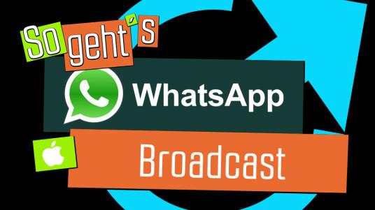 Wenn ihr mehreren Leuten dieselbe Nachricht schicken wollt, dafür aber keine extra Gruppe erstellen möchtet, bietet euch WhatsApp die Broadcast-Funktion an.Wir zeigen euch, wie ihr sie nutzt.