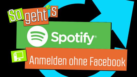 Wer nicht bei Facebook angemeldet ist, kann sich natürlich auch bei Spotify registrieren. In unserer Anleitung erklären wir euch, wie das schnell und einfach funktioniert.