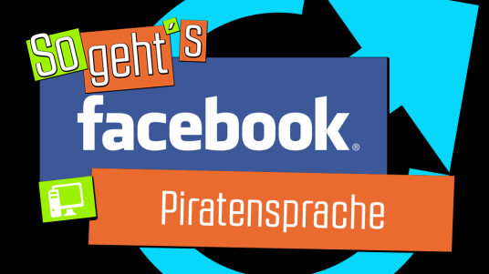 Facebook: Piratensprache