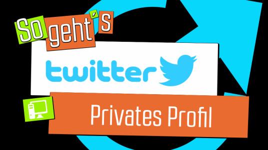 Twitter: Privates Profil