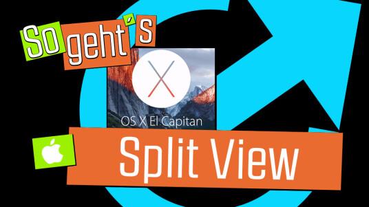 OS X 10.11 El Capitan: Split View