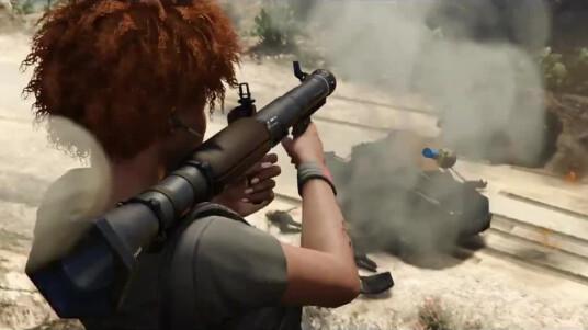 GTA 5 Online Heists-DLC-Trailer