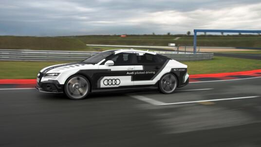 Vorstellung des RS 7 piloted driving concept.