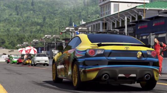 Zum Einstieg in Forza 6 folgt ein Qualifikationsrennen.