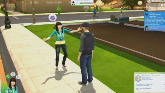 Das Gameplay-Video vermittelt euch erste Eindrücke von Die Sims 4 und wie eure Charaktere miteinander interagieren können. (Ausschnitt aus Twitch-Stream vom 5.9.14)