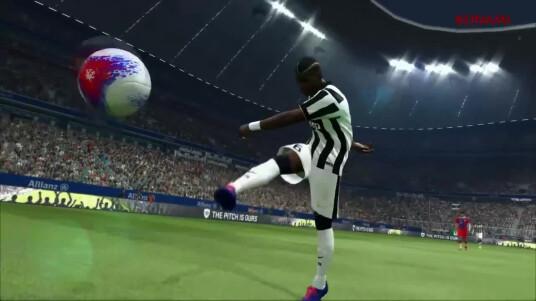 FIFA 15 kommt bald auf den Markt, da darf natürlich auch der Pendant nicht fehlen. Konami hat vor kurzem die Demo von PES 2015 mit einem Trailer angekündigt. Im video gibt es einen kleinen Gameplay-Vorgeschmack zu sehen. Die Entwickler von PES Productions wollen das Spiel wieder realistischer gestalten. Die Demo der Fußballsimulation steht bereits zum Download bereit, die Vollversion folgt am 13. November für Xbox 360, Xbox One, PS3, PS4 und PC.