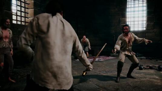 Ubisoft erhöht die Trailer-Dichte zu Assassin´s Creed unity. Das neueste Video ist eine Cutscene aus dem Spiel. Hauptcharakter Arno sitzt im Gefängnis und trainiert mit seinen Mithäftlingen den Schwertkampf. Unity ist Ubisoft´s erster Assassin´s Creed-Teil der mit einer neuen Engine entwickelt wurde. Das Actionspiel mit der offenen Spielwelt wird ab dem 13. November 2014 für PS4, Xbox One und PC erhältlich sein.