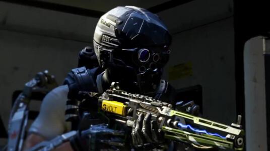 Der Ego-Shooter Call of Duty: Advanced Warfare erhält Verstärkung. Sledgehammer Games und Activision kündigen im Trailer verfrühten Zugriff auf die Bonuswaffe AE4 für Besitzer des Season Pass an. Die Waffe ist teil des Havoc-DLC, der im Januar 2015 erscheint und unter anderem neue Karten und einen Zombie-Modus enthalten wird. Im Gameplay-Trailer könnt ihr die AE4 in Aktion beobachten. Call of Duty: Advanced Warfare ist seit dem 03. November für PC, PS4, Xbox One, PS3 und Xbox 360 erhältlich.