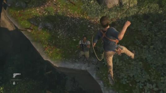 Sonys Exklusiv-Entwickler Naughty Dog hat während der Game Awards 2014 eine erste Gameplay-Demo zum Action-Adventure Uncharted 4 präsentiert. Hauptfigur Nathan Drake ist wieder auf Schatzsuche und zeigt uns im Gameplay-Video sein können. Quick-Time-Events paaren sich wieder mit einer flüssigen Gameplay-Mischung aus Nah- und Fernkampf. Wie erwartet hat Naughty Dog auch in Sachen Grafik nicht zurückgesteckt und präsentiert uns wie gewohnt hochkarätiges Bildmaterial. Einen offiziellen Release-Termin hat Naughty Dog für den PS4-Exklusivtitel bisher nicht genannt.