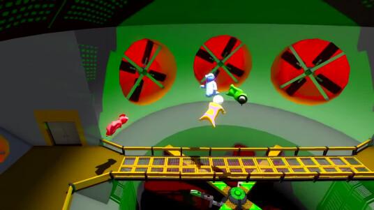 Im Prügelspiel Gang Beasts finden bis zu acht Spieler gleichzeitig Platz, dessen Ziel es ist die anderen aus dem Level zu werfen. Aufgrund einer ähnlich schwammigen Physik wie bei Octodad können lustige Kämpfe entstehen. Doble Fine Studios hat das Spiel am 29. August 2014 für den PC veröffentlicht, die PS4-Version soll 2015 folgen.