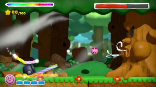 Hal Laboratory Inc. und Nintendo haben mit diesem Trailer  den Plattformer Kirby und der Regenbogen Pinsel angekündigt. Im Spiel steuert ihr Kirby mit Hilfe eines Stifts. Ihr zeichnet mit einem Stift auf dem Touchescreen Regenbögen auf denen Kirby rollen, und Gegner angreifen kann. Der Titel bietet 28 Story-Stages und 40 Herausforderungs-Levels. Kirby und der Regenbogen Pinsel soll in der zweiten Jahreshälfte 2015 exklusiv für Wii U erscheinen.