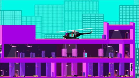 Das Entwicklerstudio Roll7 hat auf der E3 2014 den 2D-Cover-Shooter Not A Hero angekündigt und im gleichen Atemzug diese Gameplay-Demo vorgeführt. Das Spiel mit isometrischen Hintergründen basiert auf der ISO-Slant-Engine. Als Publisher übernimmt Devolver Digital die Vermarktung. Not A Hero soll 2015 exklusiv für den PC erscheinen.