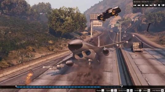 Grand Theft Auto 5 - Rockstar Editor-Trailer