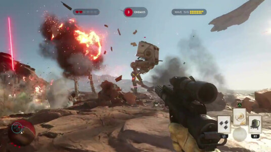 Star Wars Battlefront 3 - Gameplay-Trailer