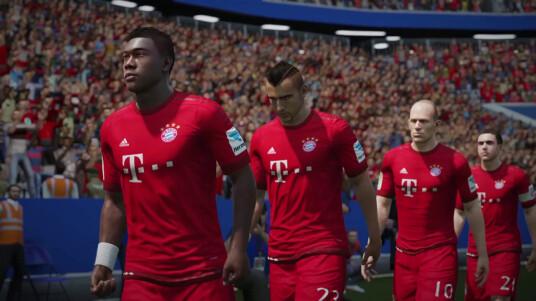 Bayern ist auch in FIFA 16 eines der Topteams.