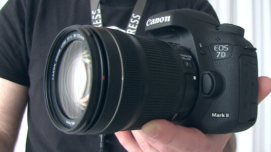 Canon 7D Mark II Hands-on - Videothumb