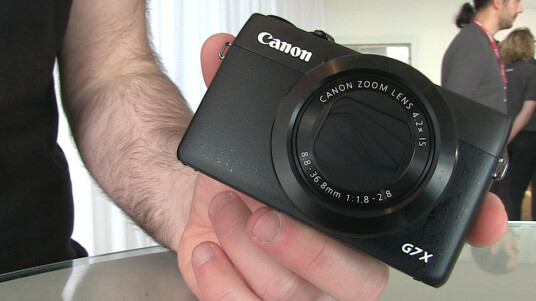 Canon G7X im Hands-on - Videothumb